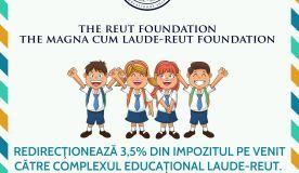 REDIRECŢIONEAZĂ 3,5% DIN IMPOZITUL PE VENIT CĂTRE COMPLEXUL EDUCAȚIONAL LAUDE-REUT (2)